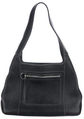 f7a8abfea0 Salvatore Ferragamo Black Leather Hobo Bags for Women - ShopStyle Canada