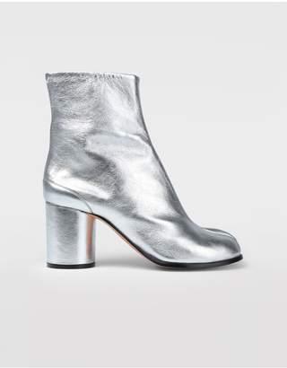 Maison Margiela Silver Tabi Boots