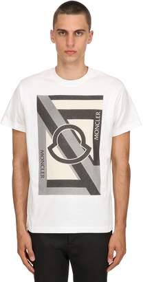 Green Cotton Moncler Genius 5 Moncler Craig T-Shirt