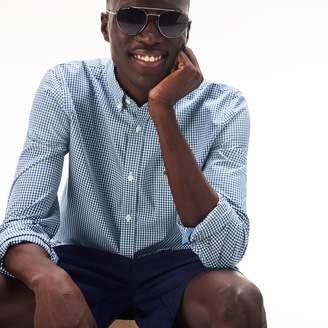 Lacoste Men's Motion Regular Fit Check Poplin Shirt