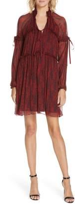 Cinq à Sept Gisele Silk Dress