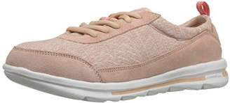 Rockport Women's Rock On Air Lace-up Windchime Suede Wash (C)
