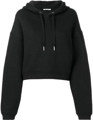 Alexander Wang Dence fleece hooded sweatshirt