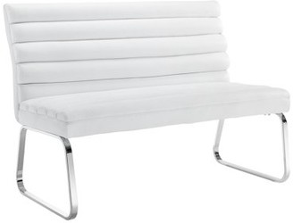 Picket House Furnishings Soho Settee Bench in White