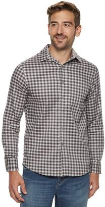Apt. 9 Men's Stretch No-Iron Woven Button-Down Shirt
