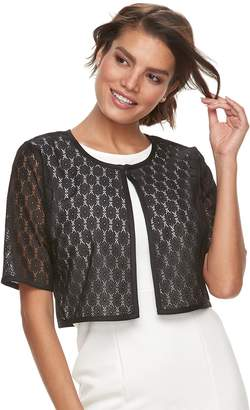 Women's Nina Leonard Lace Shrug