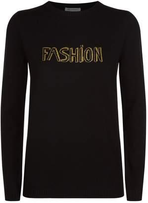 Bella Freud Lurex Fashion Sweater
