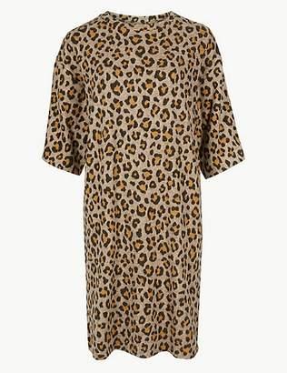 Marks and Spencer Animal Print Shift Dress