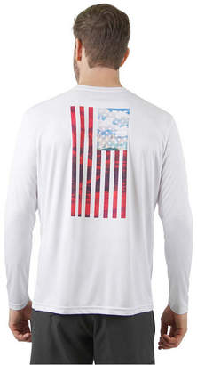 Mountain and Isles Sun Protection Long Sleeve Flag T-Shirt