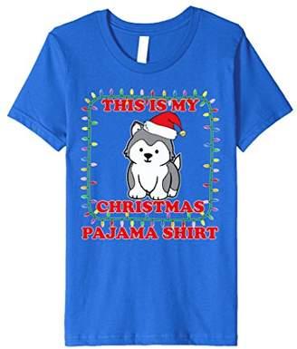 Cute this is My Christmas Pajama Shirt