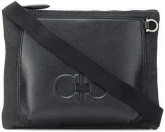 Salvatore Ferragamo double Gancini messenger bag