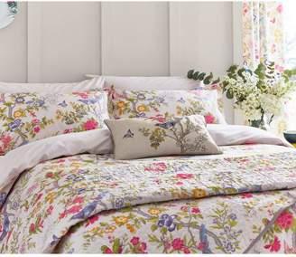 V&A Chinese Bluebird Bedspread Throw