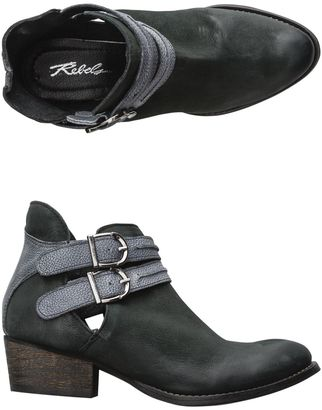 Rebels Calista Leather Bootie $138.95 thestylecure.com