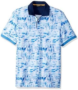 Bugatchi Men's Cotton Tapered Fit Knit Damek Polo Shirt