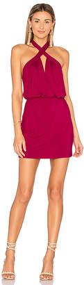 Krisa Cross Front Mini Dress