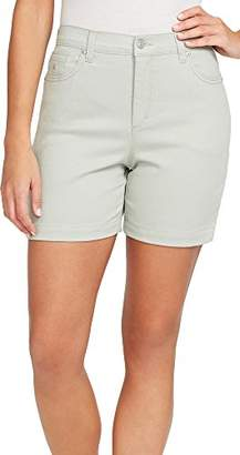 Gloria Vanderbilt Women's Amanda Roll Snap Short