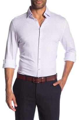 Stone Rose Heathered Long Sleeve Shirt