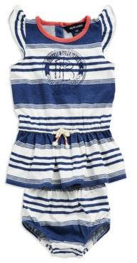 Ralph Lauren Baby Girls Cotton T-Shirt Dress