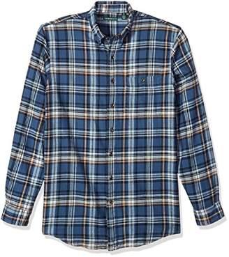 G.H. Bass & Co. Men's Big and Tall Fireside Flannel Long Sleeve Shirt