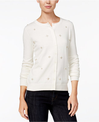 Tommy Hilfiger Marilyn Embellished Cardigan, Only at Macy's $69.50 thestylecure.com