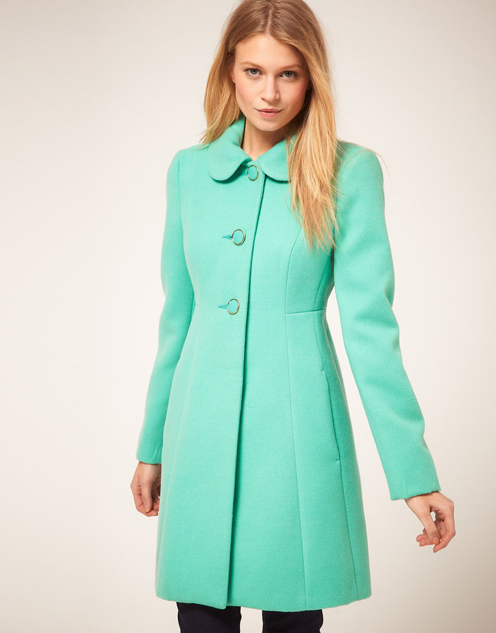 Oasis Colored 60's Coat