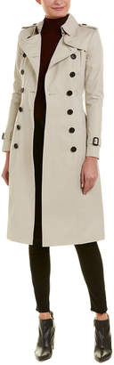 Burberry Chelsea Extra-Long Trench Coat
