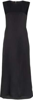 Helmut Lang A Line Cutout Back Sleeveless Midi Dress