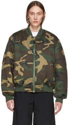 Alyx Green Camo Outerwear Pilot Jacket