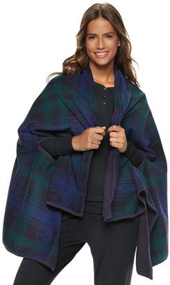 Cuddl Duds Women's Reversible Blanket Wrap