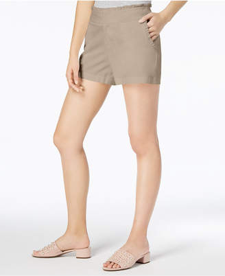 Maison Jules Ruffled Shorts, Created for Macy's