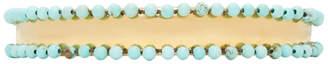 Isabel Marant Blue Beaded Tropical Bracelet