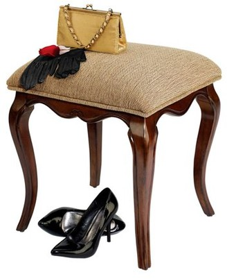 Toscano Design Lady Guinevere Vanity Stool
