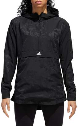 adidas Woven Shell Hooded Pullover