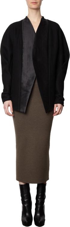 Haider Ackermann Highwaisted Long Pencil Skirt