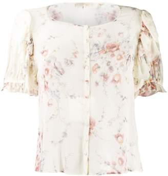 LoveShackFancy Love Shack Fancy Shaye floral-print blouse