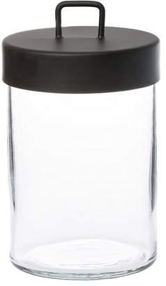 Zakkia Glass Jar, Black, Large