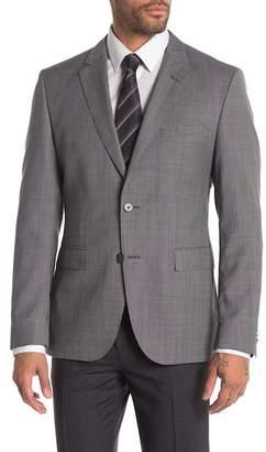 BOSS Wool Blend Mini Dot Blazer