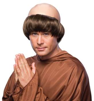 Rubie's Costume Co Costume Monk Wig with Tonsure