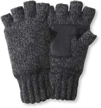 L.L. Bean L.L.Bean Ragg Wool Fingerless Gloves