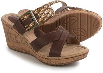 Born b.o.c. Izabel Wedge Sandals - Vegan Leather (For Women) $29.99 thestylecure.com