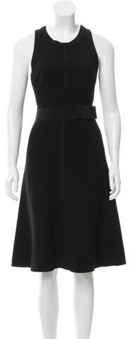 pradaPrada A-Line Midi Dress