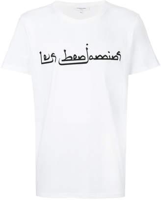 Les Benjamins logo print T-shirt