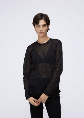 Comme des Garcons Long Sleeve Mesh Tee