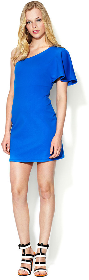 Susana Monaco Jersey One Shoulder Dress