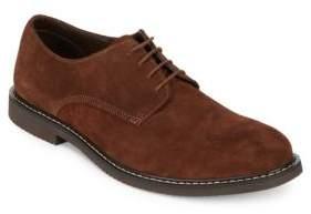 Black & Brown Black Brown Desoto Suede Derby Shoes