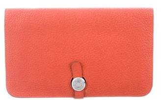 Hermes Clemence Dogon Combined Wallet