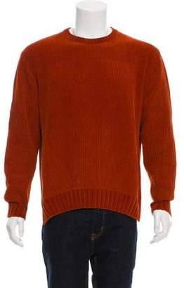 Wooyoungmi Woven Crew Neck Sweater