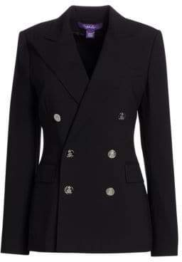 Ralph Lauren Iconic Style Camden Double-Breasted Blazer