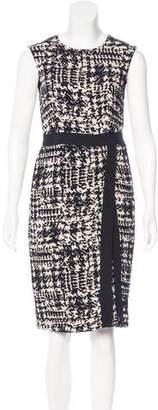 CH Carolina Herrera Patterned Knee-Length Dress