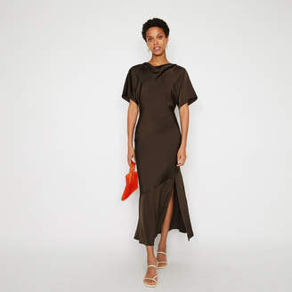 Warehouse COWL FRONT SLINKY MAXI DRESS